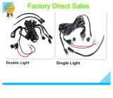 Cablaggio di collegamenti movente chiaro del kit dell'automobile della lampada del lavoro universale del LED