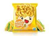 Indonésia fritou a máquina de empacotamento automática vertical do alimento da ESPIGA de milho