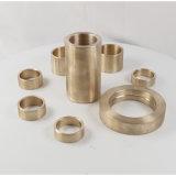 Kupferne Präzisions-CNC maschinell bearbeitete Buchsen