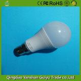 9W Bombilla LED con base B22, CE, FCC certificados RoHS