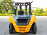 Grand chariot élévateur 5ton diesel des bons prix avec l'engine d'Isuzu