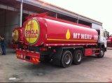 Sinotruk HOWO 6X4 10の荷車引き20cbmの燃料のタンク車