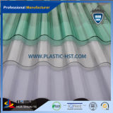 Лист Currugated PC строительного материала высокого качества прозрачный для толя