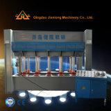 Máquina caliente de la prensa para la tarjeta de la madera contrachapada y de madera