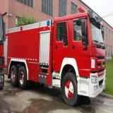 Het water-Schuim van HOWO 6X4 15000L het water-Schuim van de Vrachtwagen van de Brandbestrijding van de Tank