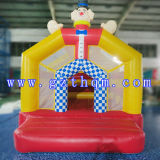 KidsのためのThemed Inflatable Jumping CastleかWaterproof Small Inflatable Bouncy Jumping Castles道化師