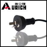 Светильник Iram 2 вьюрков кабеля гнезд Pulg кабеля шнуров питания Pin Аргентины резиновый
