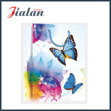 Wholesale Flowers & Buttlefly printed Shopping carrier poison PAPER Bag