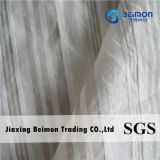 12mm: de Stof van de Voile van de Streep 15%Silk 85%Cotton voor Overhemd