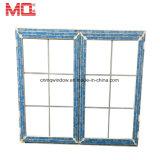 UPVC Fenster-Gitter-Entwurfs-Philippinen-Glasvinylfenstertür