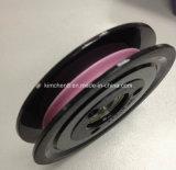 Rullo/puleggia di ceramica del collegare di guida della flangia del cavo di nylon di plastica della scanalatura