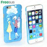 Freesub sublimación 2D en blanco imprimible Teléfono celular caso (IP6-L)