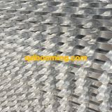 Tramite la rete fissa ornamentale di alluminio del rivestimento della polvere nera della saldatura