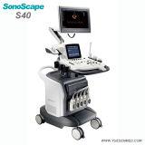 Krankenhaus-medizinischer beweglicher und beweglicher Ultraschall Sonoscape Farben-Doppler-4D