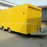 グリルが付いている電気オーストラリアの標準移動式食糧トレーラー