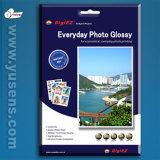 Alto papel brillante revisado SGS de la foto del chorro de tinta de la calidad de la fábrica
