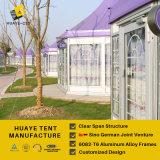 سداسيّة [هي بك] سقف أرجوانيّة ألومنيوم حزب خيمة مع [غلسّ ولّ]