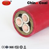Câble d'exploitation minière de la qualité du fil violet de mine de cuivre