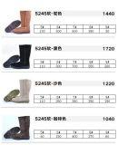 Cuero auténtico Mujer/Dama botas de invierno, nieve botas, botas de moda, el nombre de marca de botas, pares de 18000