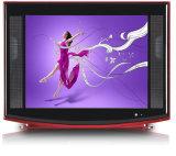 21インチの超細いカラーテレビCRT TV