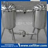 Ss 316のマルチカートリッジフィルター容器の食品等級のステンレス鋼のカートリッジフィルターハウジング
