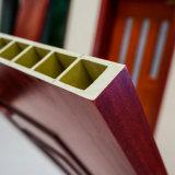 Haut écologique WPC panneau en bois Décoration de porte en plastique