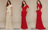 新式の赤い女性形式的なイブニング・ドレス、党Dreeは、カスタマイズした