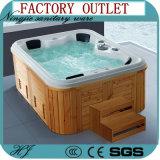 Vasca calda di massaggio degli articoli sanitari esterni di lusso della STAZIONE TERMALE (713A)
