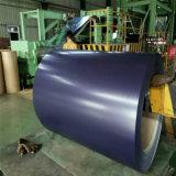 La couleur de feuille de toiture de PPGI enduite a galvanisé la bobine en acier