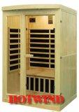 Sauna di legno di Infrared lontano 2016 della stanza portatile di sauna per 2 genti (SEK-I2)
