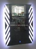 De LEIDENE van de badkamers Aangestoken Spiegel van de Ijdelheid met Licht