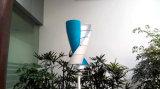 Крыш-Установленный генератор ветра оси 500W 12V 24V малый вертикальный