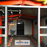 Équipement de hangar à volailles personnalisé avec construction de maisons pour un seul arrêt