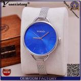 Yxl-798 het gouden Horloge van het Glas van de Saffier van de Beweging van het Kwarts van Japan van het Horloge van het Staal van het Geval van het Roestvrij staal van Dames Achter