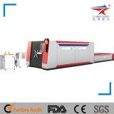 Резец лазера волокна стального листа Stainles (TQL-MFC500-2513)