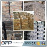 Yellow Rusty Slate Ledgestone pour carreaux muraux, façade Décoration