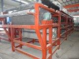 Prensa de filtro de desecación de la correa del lodo ahorro de energía