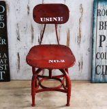 Silla roja del metal de los nuevos del diseño muebles del hogar