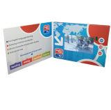 工場供給の招待LCDのビデオパンフレットのカード