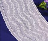 Fashion 4cm bordado elásticas rendas para decoração