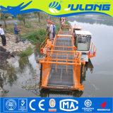Machine van de Maaimachine van het Onkruid van Julong de Aquatische voor het Schoonmaken van het Water