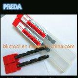 固体炭化物の鋼鉄およびステンレス鋼のための内部冷却剤のドリル