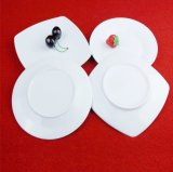 Articoli per la tavola a forma di del piatto del quadrato di ceramica quotidiano di uso