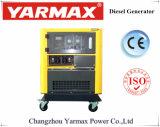 Fabricante Yarmax! Top Venda Início eléctrico arrefecido a água em silêncio gerador diesel 12kVA 10kVA