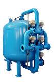 Retrolavagem automática do filtro de areia de filtração de by-pass