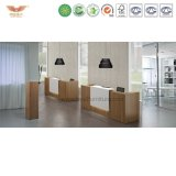 Weißer preiswerter verwendeter Empfang-Schreibtisch-Schönheits-Salon-Empfang-Schreibtisch