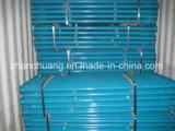 Armatura d'acciaio registrabile galvanizzata resistente del puntello del carbonio