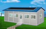 Casa modular do painel de sanduíche da construção de aço (KXD-pH1093)