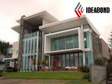 Los paneles de pared exterior del aluminio de los materiales de construcción del metal de Ideabond PVDF