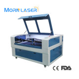 Facendo pubblicità alla tagliatrice del laser di CNC 150W per lo strato inossidabile del ferro di plastica di gomma di legno acrilico del metallo